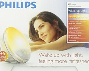 PHILIPS WAKE-UP LIGHT WITH COLORED SUNRISE SIMULATION $75