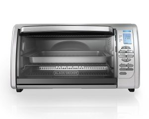 BLACK+DECKER 6-Slice Digital Convection Countertop Toaster Oven Only $34.55!