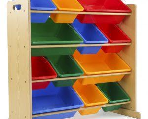 Tot Tutors Kids' Toy Storage Organizer with 12 Plastic Bins Only $33.53!
