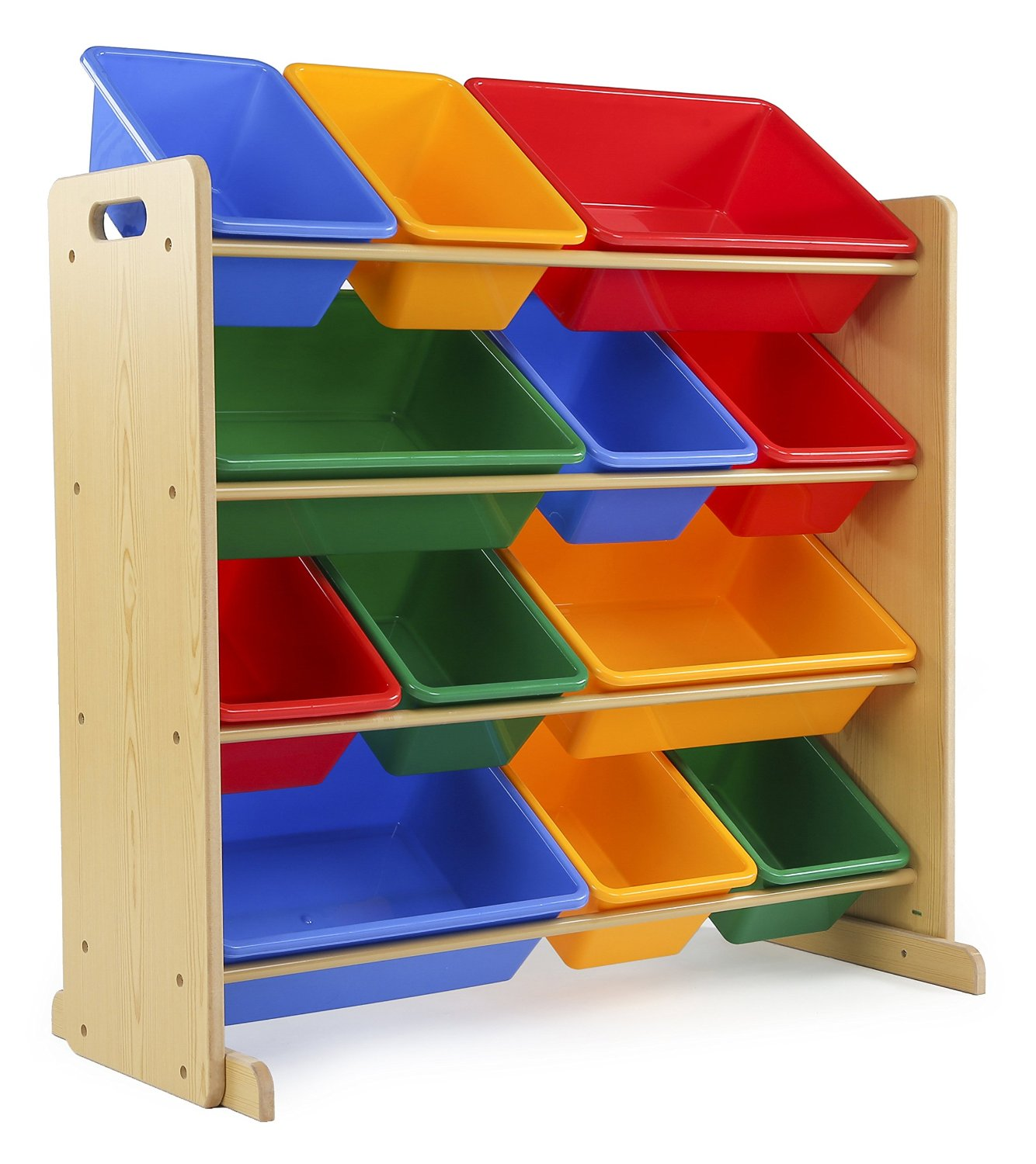 Tot Tutors Kidsu0027 Toy Storage Organizer With 12 Plastic Bins Only $33.53!