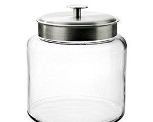 Anchor Hocking Montana Glass Jar with Lid $11.87