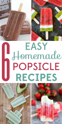 Temperatures are rising and what better way to cool down than a homemade popsicle? We've got 6 easy popsicle recipes to beat the heat!