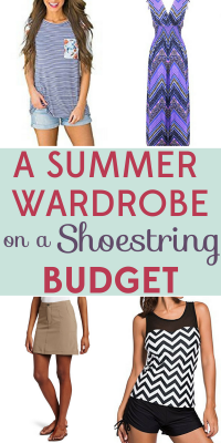 A entire summer wardrobe for under $200? We've got bargain options that will keep you stylish all summer long!