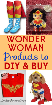 Bring a bit of the movie home with you with these Wonder Woman products! We've got both DIY and store bought options.