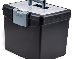 Storex Portable File Box $7.99