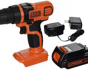 BLACK+DECKER 20 Volt Cordless Drill/Driver $34.49