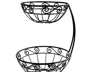 Spectrum Tiered Fruit Basket $10.26