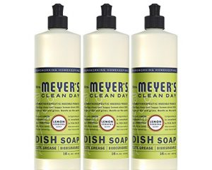 Mrs. Meyer's 16 oz Dish Soap, 3 pack only $8.52