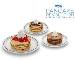 Monday Freebies-Free Pancakes from IHOP!