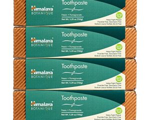 Himalaya Neem and Pomegranate Toothpaste (4 Pack) $15.98
