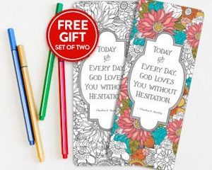 Monday Freebies-Free Coloring Bookmarks