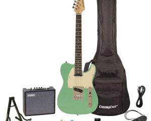 Sawtooth Electric Guitar, Surf Green $70.23