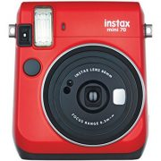 Fujifilm Instax Mini 70 – Instant Film Camera (Red) $95