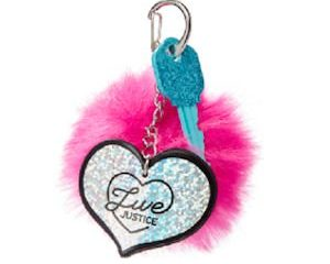Friday Freebies-Free Pom Keychain from Justice!