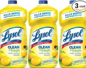 Lysol Clean & Fresh Multi-Surface Cleaner 3 pack $6.18