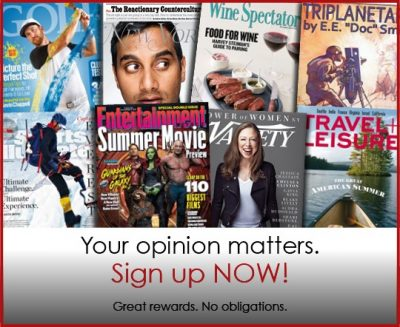 60092e46b3e Monday Freebies- Free Magazine Subscriptions from RewardSurvey!