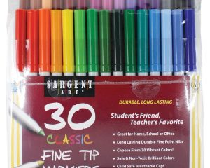 Sargent Art 30 Count Classic Markers, Fine Tip $3.02