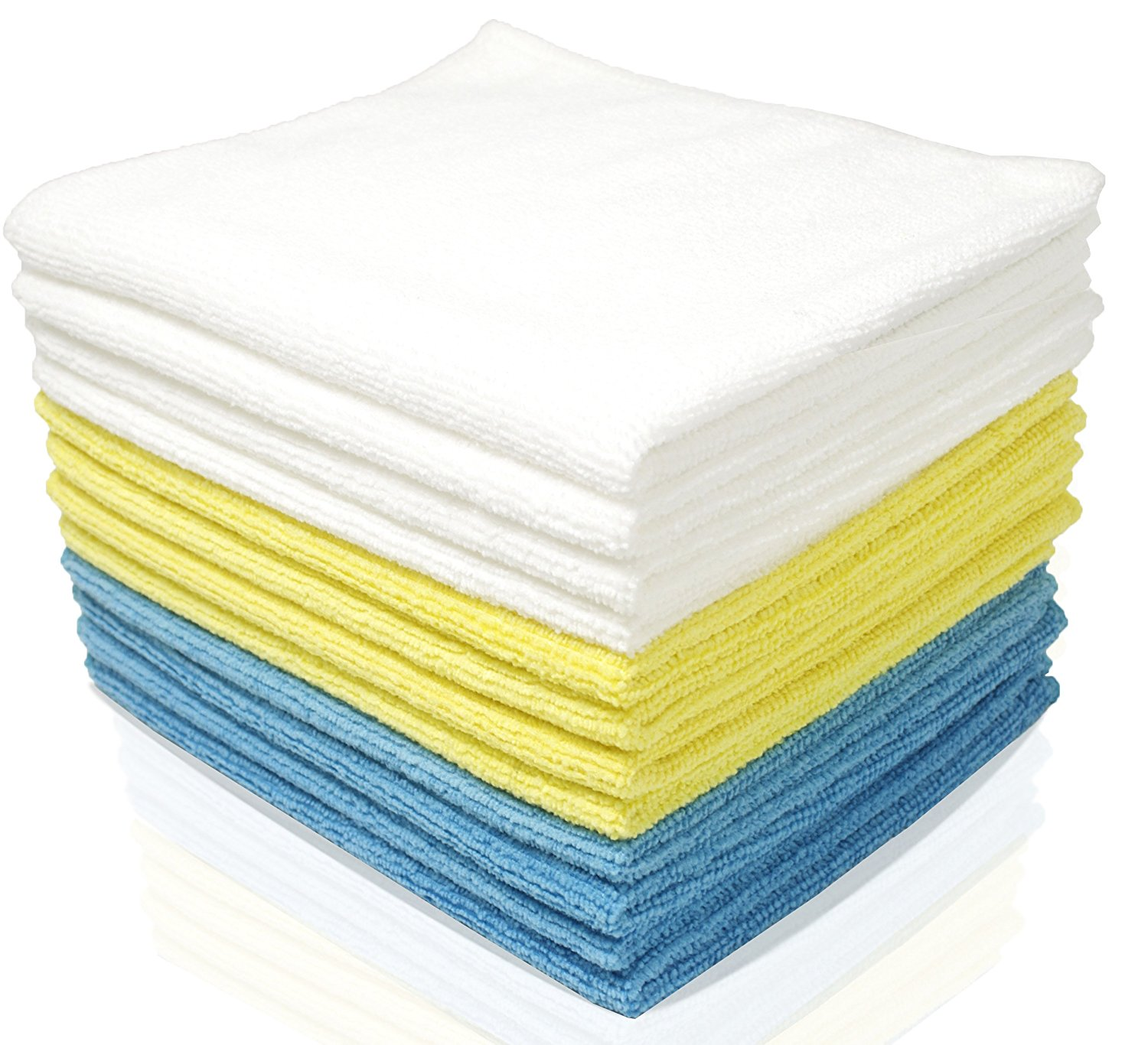 Microfiber Cloth Set: Royal Reusable Microfiber Cleaning Cloth Set (24 Pack) $11.95