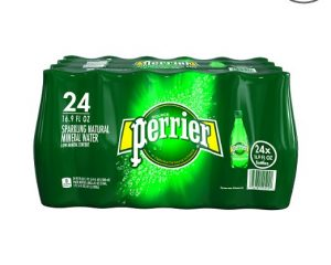 Prime Deal: PERRIER Sparkling Mineral Water, 16.9-Ounce Bottles (Pack of 24) Only $12.99!