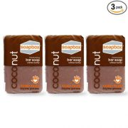 SoapBox Soaps Shea Butter Bar Soap 8 Ounce (Pack of 3) $8.61