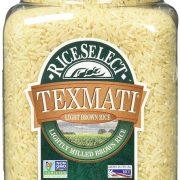 RiceSelect Texmati Light Brown Rice 32 oz Jars (Pack of 4) $6.14