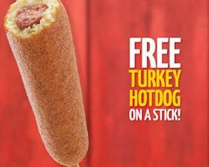 Thursday Freebies-Free Hot Dog on a Stick!