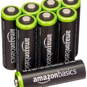 AmazonBasics AA Rechargeable Batteries (8-Pack) Pre-charged Only $13.97!