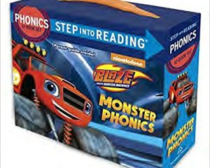 Monster Phonics (Blaze and the Monster Machines) (Step into Reading) $3.50