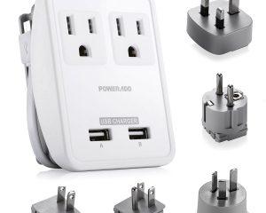 Poweradd World International Travel Adapter Kit $18.99