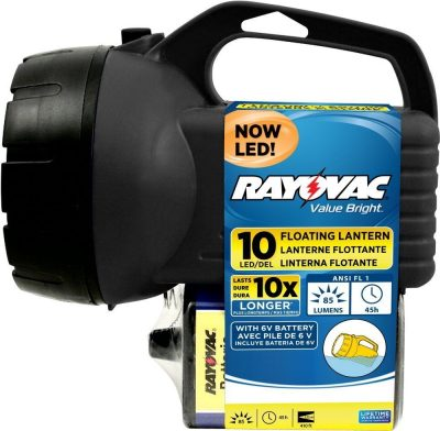 Rayovac Bright 85 Lumen 6V 10 LED Floating Lantern With Battery Only 492