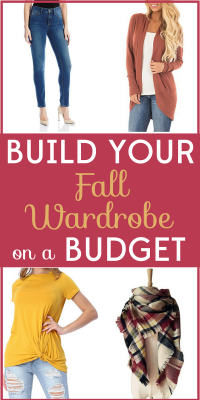 Time to break out the sweaters and scarves! But don't spend a lot. We've got tips for building your fall wardrobe on a budget!