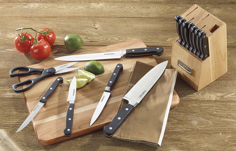 Cuisinart Advantage 14 Piece Triple Rivet Block Knife Set