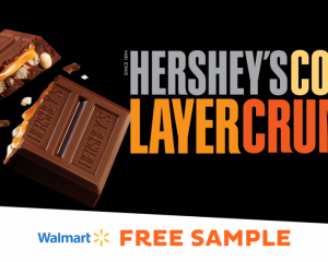 Saturday Freebies – Free Hershey's Cookie Layer Crunch Caramel Sample at Walmart!