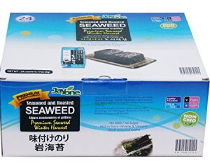 Jayone Seaweed, Roasted and Lightly Salted, 24 Count Only $6.98!