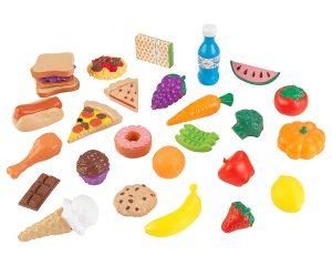 KidKraft 30Pc Pretend Play Food Set Playset Only $6.16!