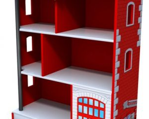 Kidkraft Firehouse Bookcase Only $58.99!