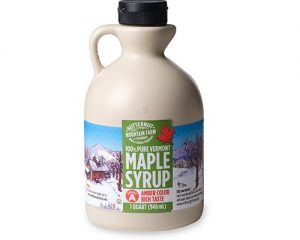 BUTTERNUT MOUNTAIN FARM, 100% PURE MAPLE SYRUP FROM VERMONT, GRADE A, AMBER COLOR, 32 FL OZ $14.94