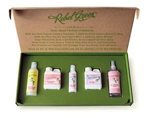 Tuesday Freebies-Free Rebel Green Cleaning Samples
