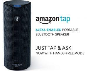 Amazon Tap – Alexa-Enabled Portable Bluetooth Speaker $79.99