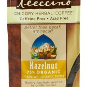 Teeccino Hazelnut Chicory Herbal Coffee Alternative, Caffeine Free, Acid Free, 11 Ounce (Pack of 3) $4.74