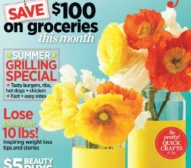 Friday Freebies-Free Subscription to Woman's Day Magazine!