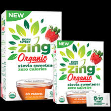 Saturday Freebies – Free Zing Organic Stevia Sweetener Sample!