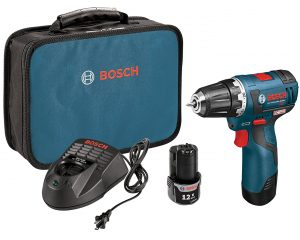 Bosch PS32-02 12-volt Max Brushless 3/8-Inch Drill/Driver Kit with 2.0Ah Batteries, Charger and Case $99