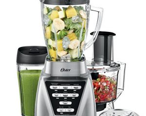 Oster Pro 1200 Blender 3-in-1 with Food Processor Attachment and XL Personal Blending Cup $56