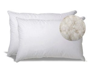 Extra Soft Down Filled Pillow for Stomach Sleepers w/ Cotton Casing 2 Pack $90.99