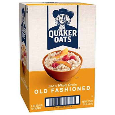 Quaker Oats Old Fashioned Oatmeal Breakfast Cereal 128