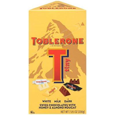 Toblerone Tiny Variety Gift Box White Milk And Dark