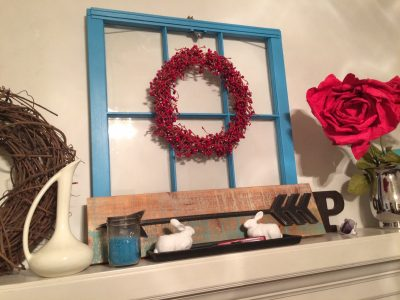 Decorating on a dime! Here are my tips for a seasonal mantel update with thrifted finds and items you already own!