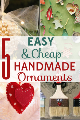 These handmade ornaments create a personalized touch, make great gifts, and are fu  projects to get you in the holiday season!
