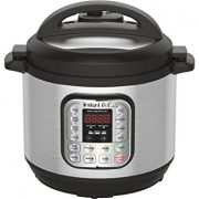 Instant Pot DUO80 8 Qt 7-in-1 Multi- Use Programmable Pressure Cooker, Slow Cooker, Rice Cooker, Steamer, Sauté, Yogurt Maker and Warmer $81.99